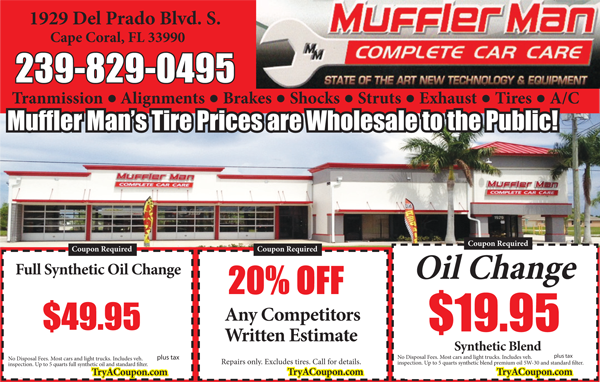 Local Deals Coupon Book Oil Change Mechanic Coupons